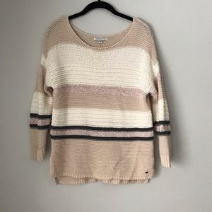 American Eagle Sweater Size M Neutral Colors
